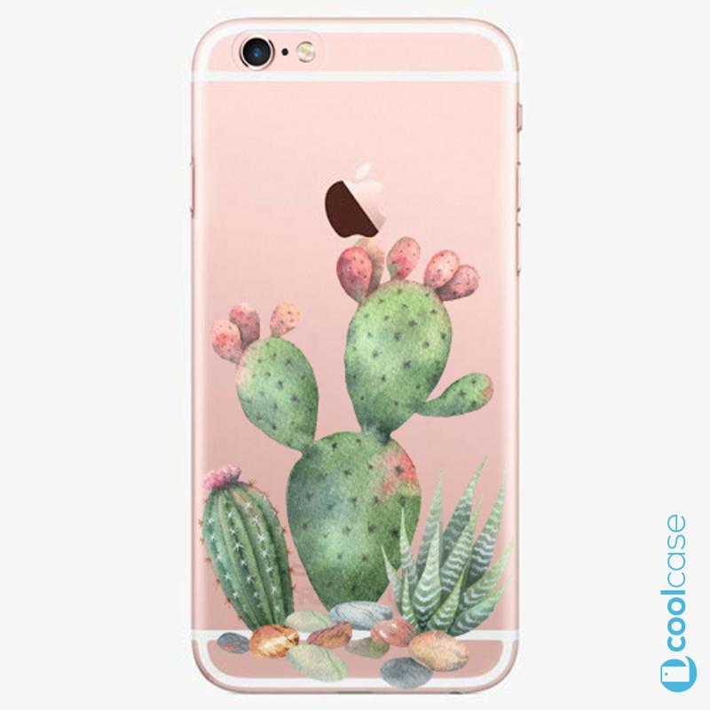 Silikonové pouzdro iSaprio - Cacti 01 na mobil Apple iPhone 6 Plus / 6S Plus