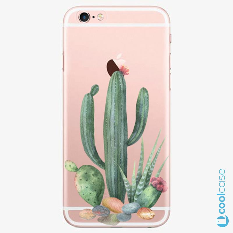 Silikonové pouzdro iSaprio - Cacti 02 na mobil Apple iPhone 6 Plus / 6S Plus