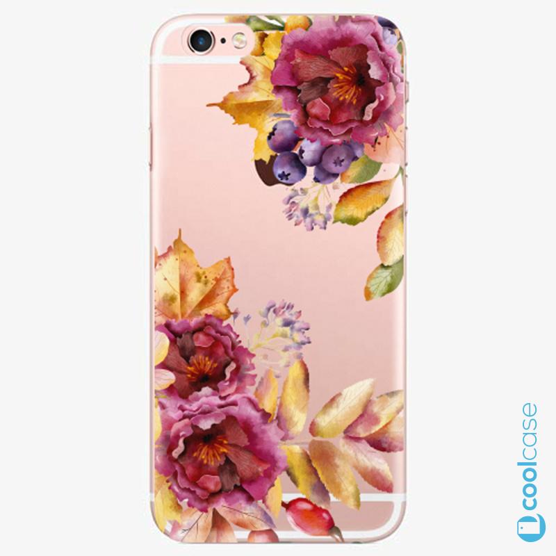 Silikonové pouzdro iSaprio - Fall Flowers na mobil Apple iPhone 6 Plus / 6S Plus