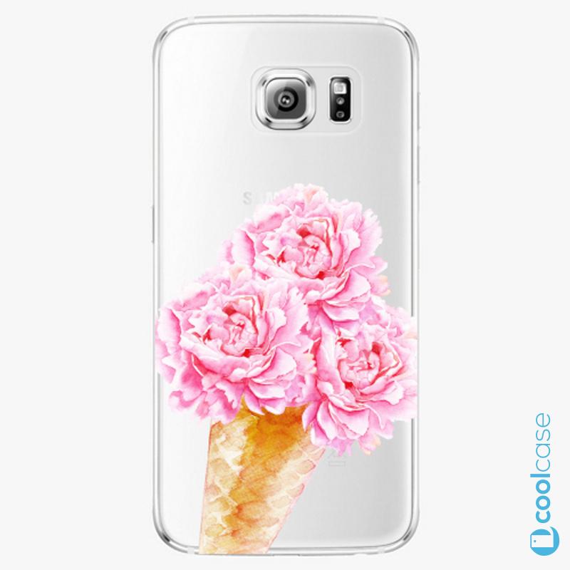 Silikonové pouzdro iSaprio - Sweets Ice Cream na mobil Samsung Galaxy S6 Edge