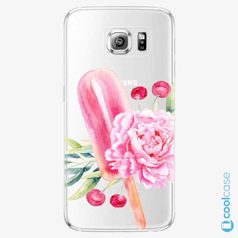 Silikonové pouzdro iSaprio - Sweets Popsicle na mobil Samsung Galaxy S6 Edge