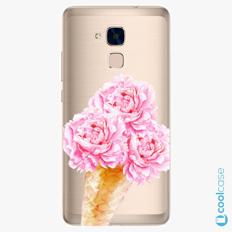 Silikonové pouzdro iSaprio - Sweets Ice Cream na mobil Honor 7 Lite
