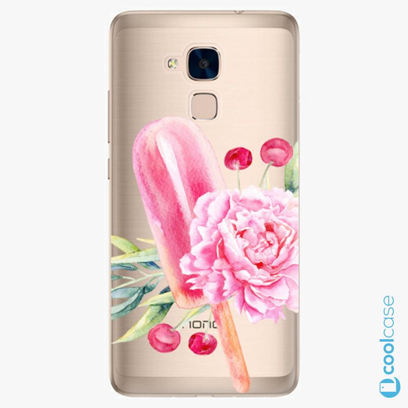 Silikonové pouzdro iSaprio - Sweets Popsicle na mobil Honor 7 Lite