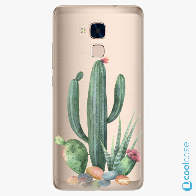Silikonové pouzdro iSaprio - Cacti 02 na mobil Honor 7 Lite
