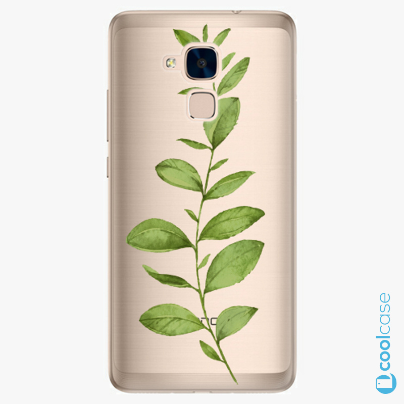 Silikonové pouzdro iSaprio - Green Plant 01 na mobil Honor 7 Lite