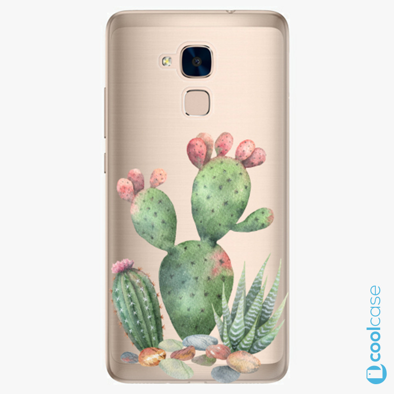 Silikonové pouzdro iSaprio - Cacti 01 na mobil Honor 7 Lite