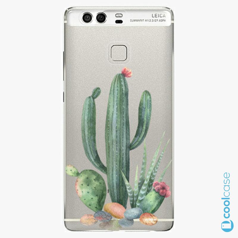 Silikonové pouzdro iSaprio - Cacti 02 na mobil Huawei P9