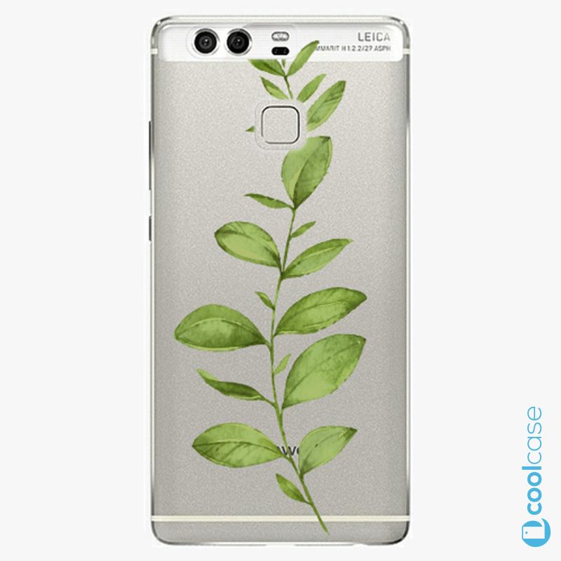 Silikonové pouzdro iSaprio - Green Plant 01 na mobil Huawei P9