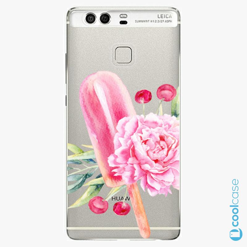 Silikonové pouzdro iSaprio - Sweets Popsicle na mobil Huawei P9