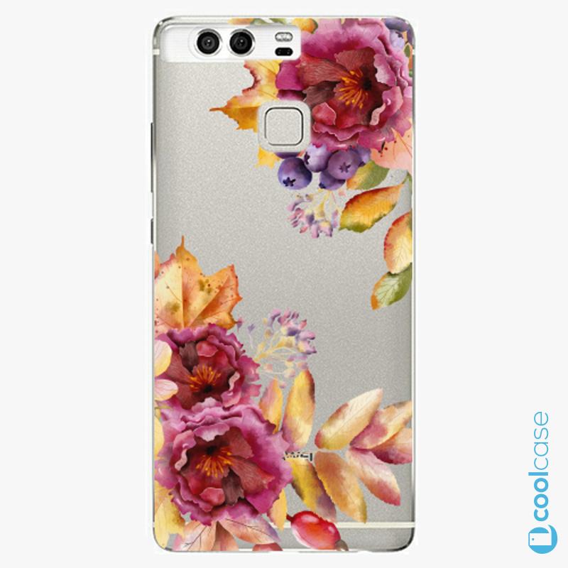 Silikonové pouzdro iSaprio - Fall Flowers na mobil Huawei P9
